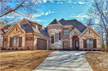 4-Bedroom, 3084 Sq Ft French Home - Plan #153-1990 - Main Exterior