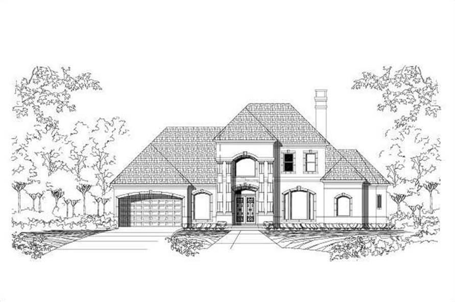 Main image for house plan # 16042