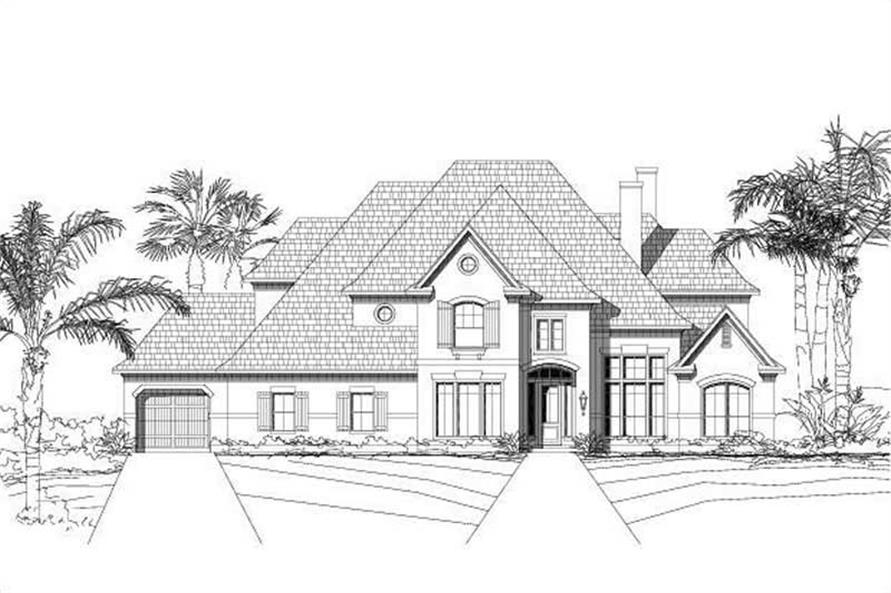 Main image for house plan # 16005