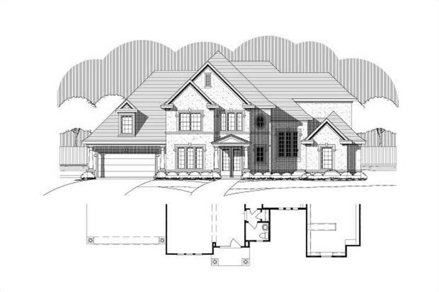 Main image for house plan # 16080