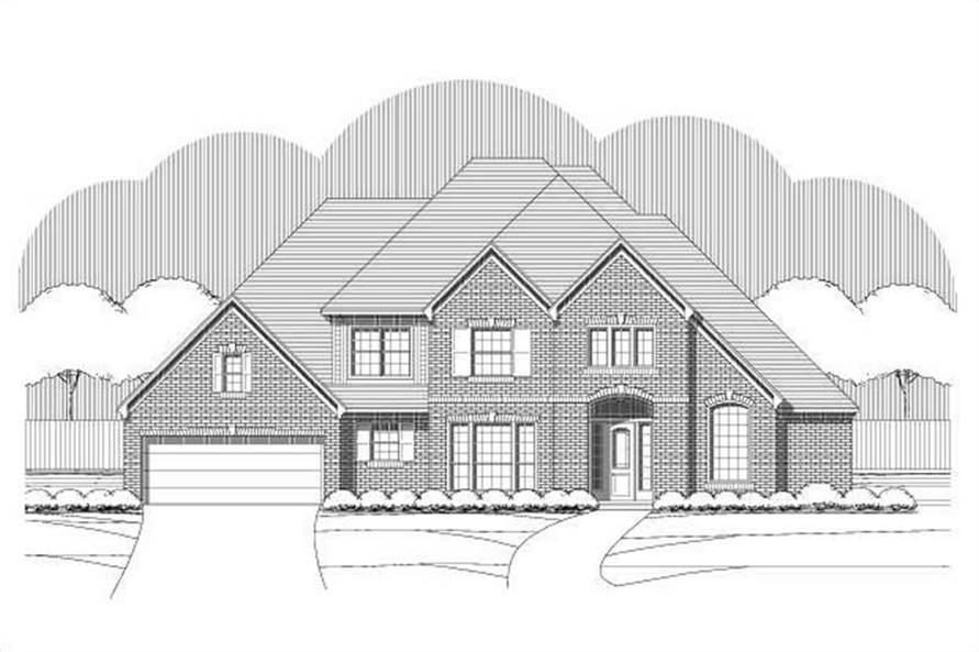 Main image for house plan # 16056
