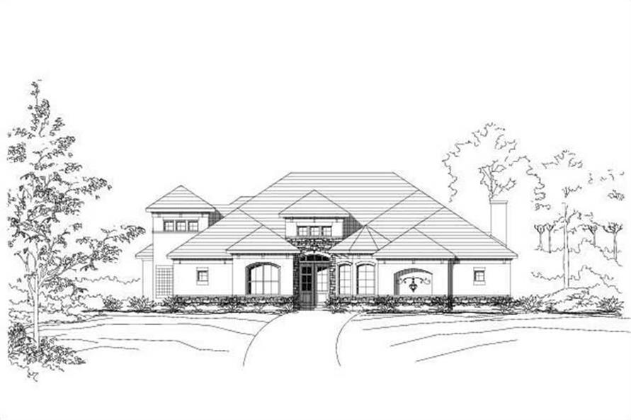 Main image for house plan # 16045