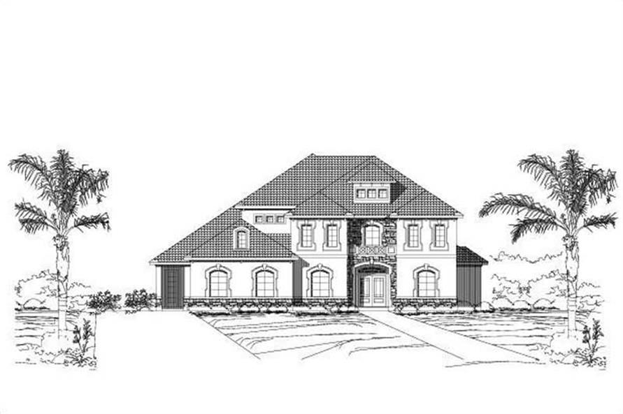 Main image for house plan # 16095