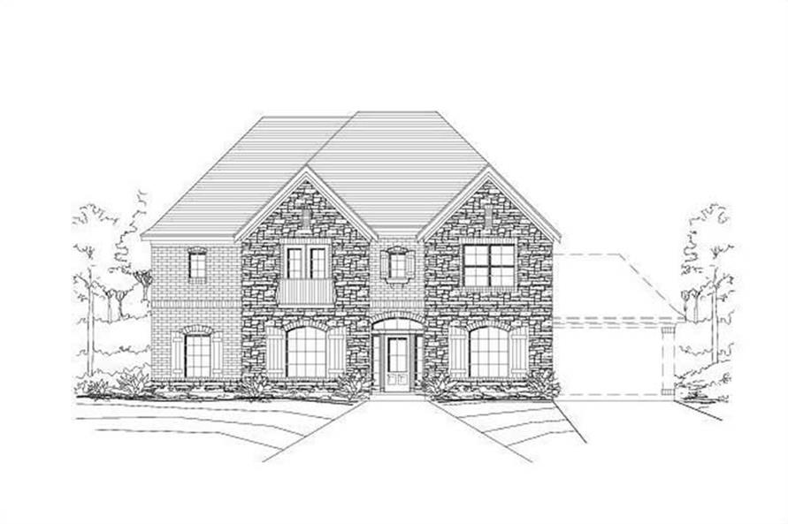 Main image for house plan # 16101