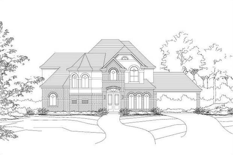Main image for house plan # 16135