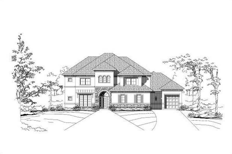Main image for house plan # 16205