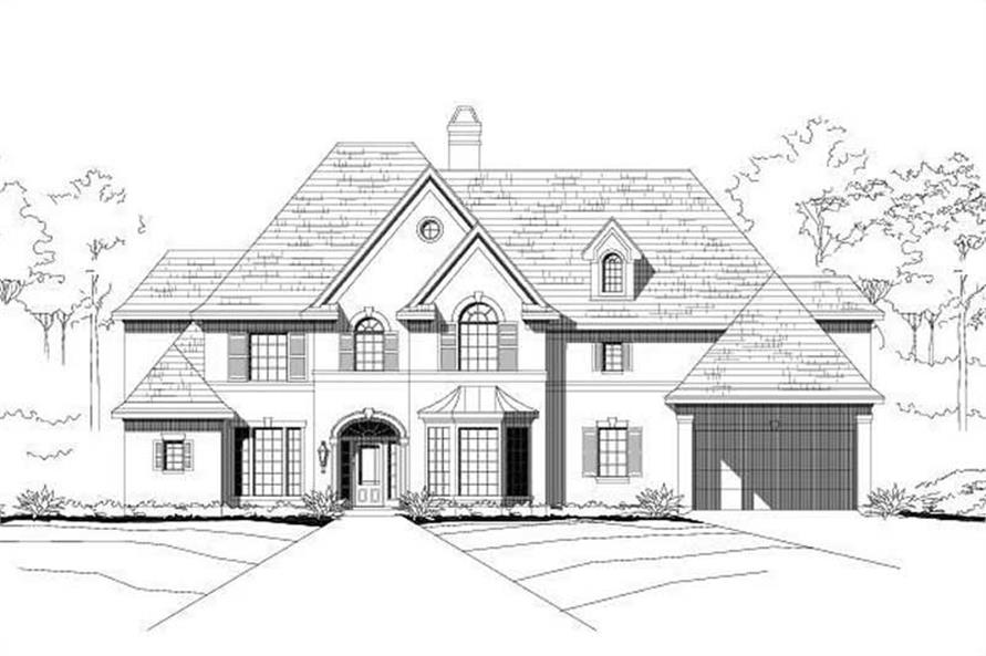 Main image for house plan # 16145