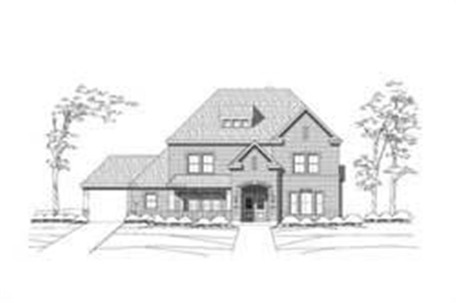 Main image for house plan # 16148
