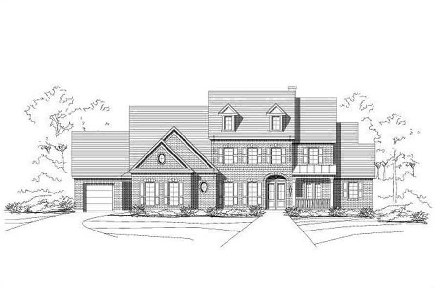 Main image for house plan # 16210