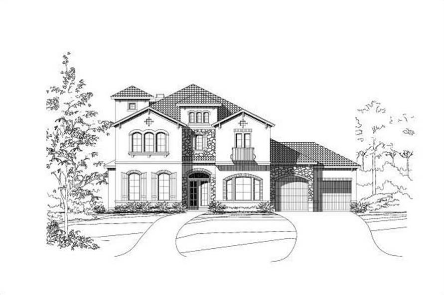 Main image for house plan # 16161