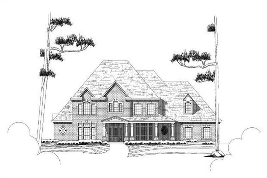 Main image for house plan # 16195