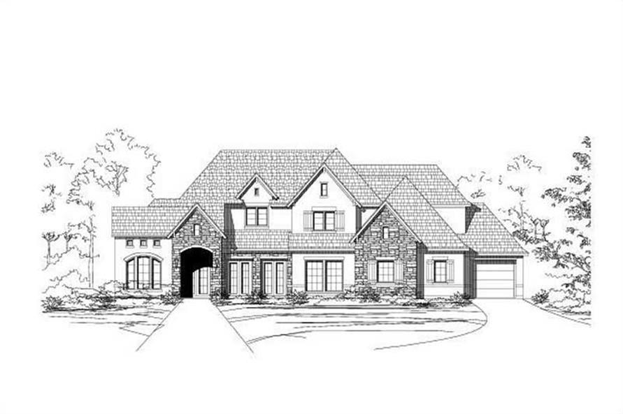 Main image for house plan # 16190