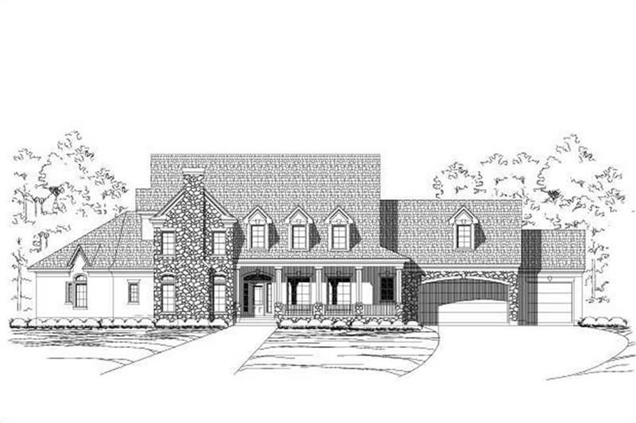 Main image for house plan # 16178