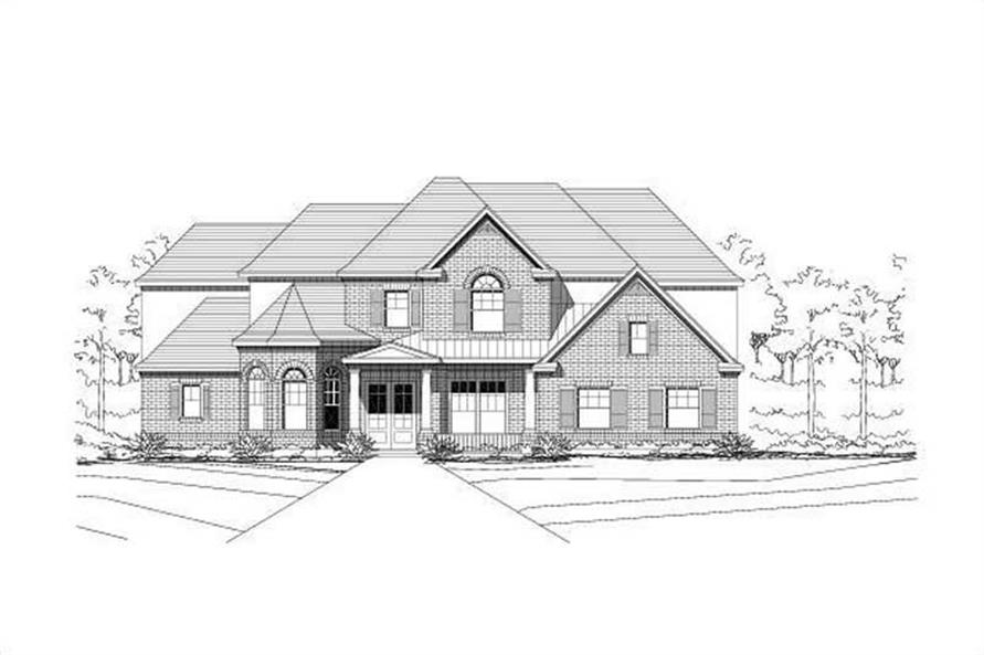 Main image for house plan # 16057