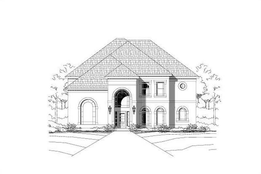 Main image for house plan # 16068