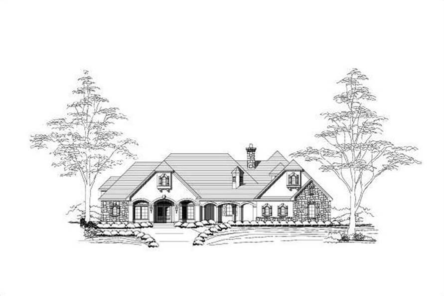 Main image for house plan # 16069