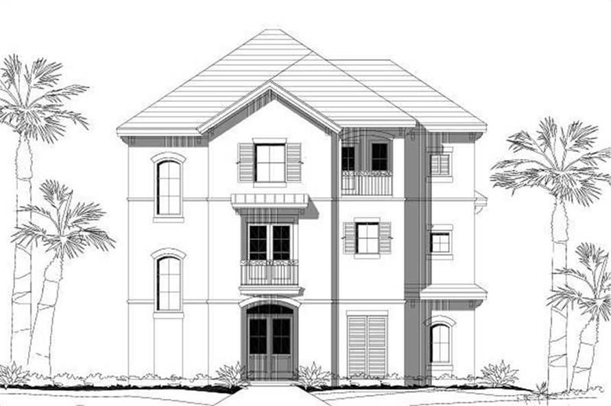 Main image for house plan # 16071