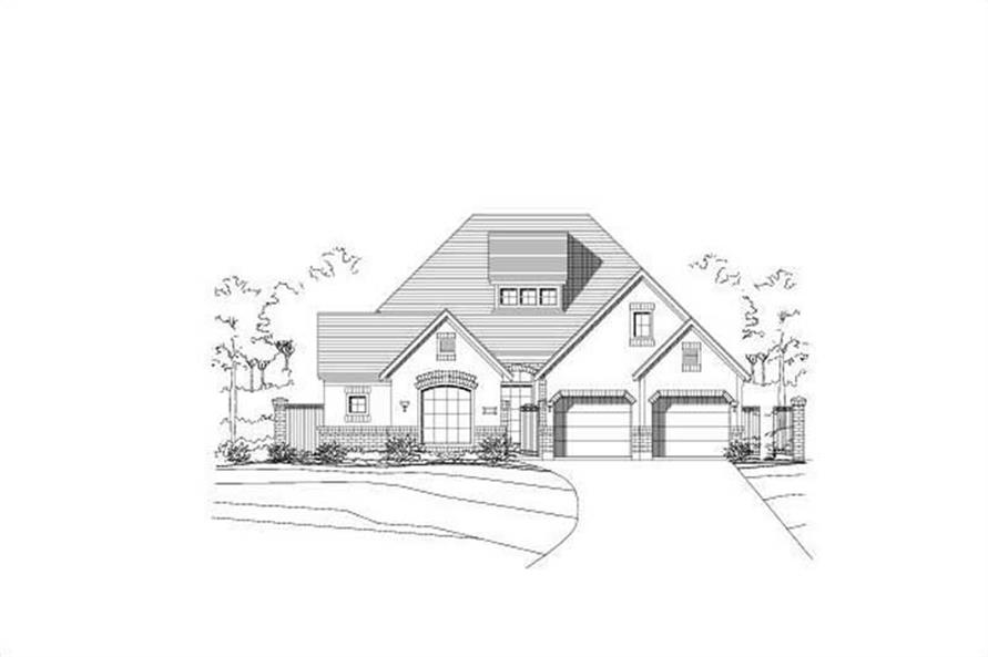 Main image for house plan # 16112