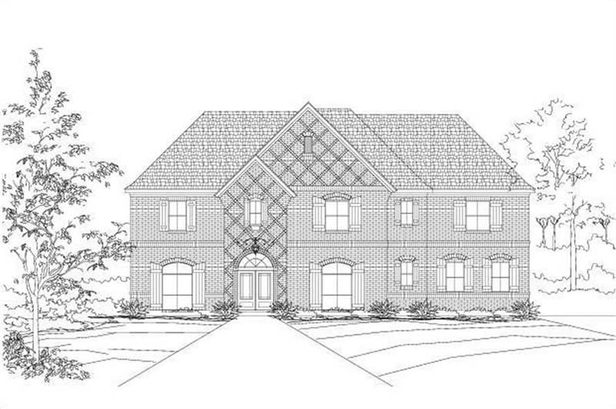 Main image for house plan # 16223