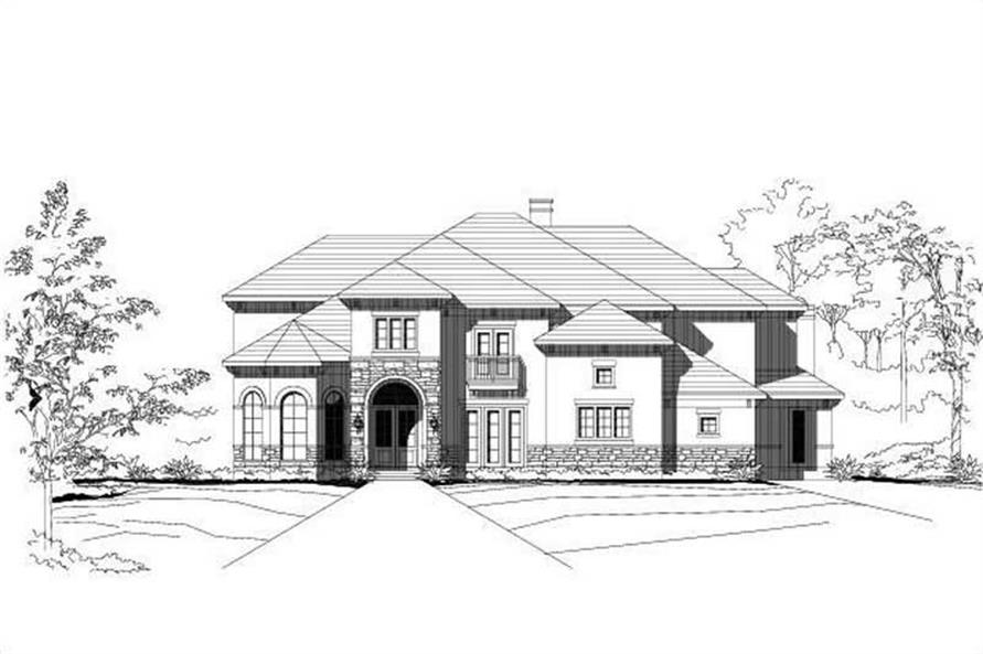 Main image for house plan # 16220