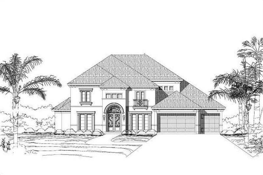 Main image for house plan # 16219
