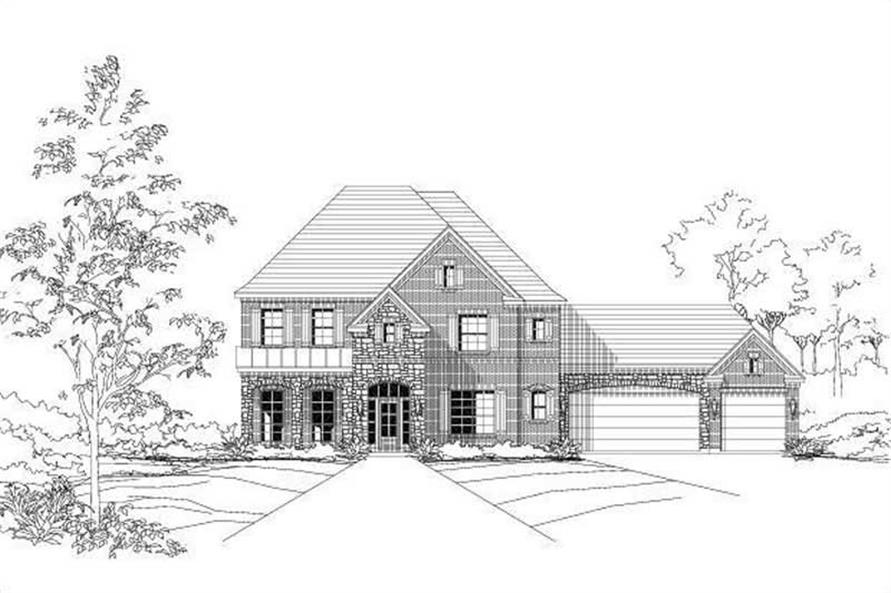 Main image for house plan # 16003