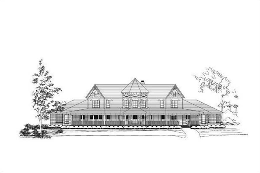 Main image for country home plans # 16215