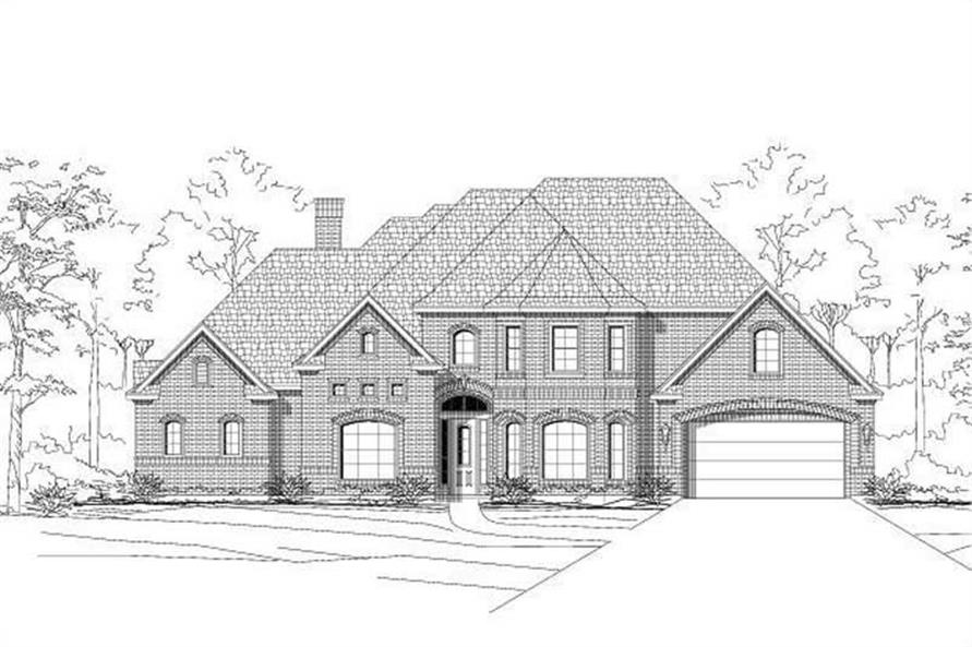 Main image for house plan # 16037