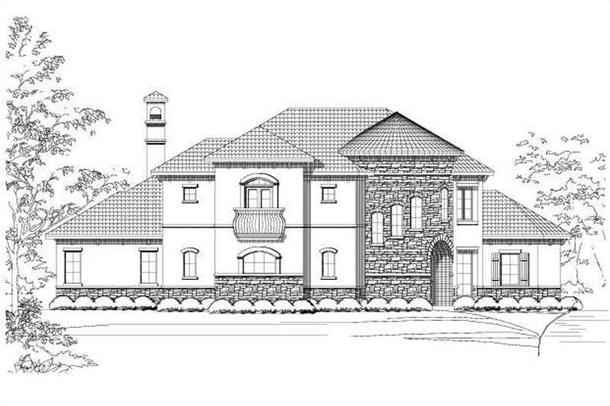 Main image for house plan # 16018