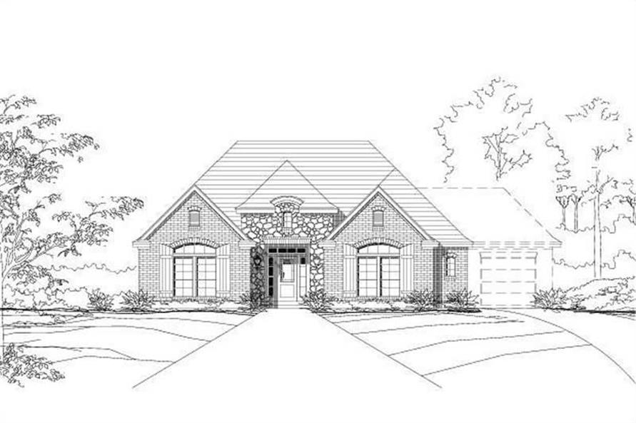 Main image for house plan # 16024