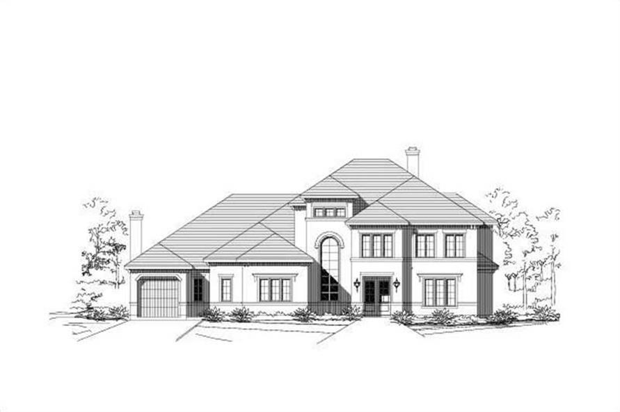 Main image for house plan # 16028