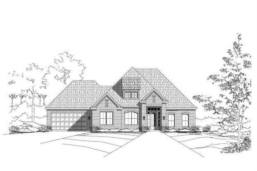 Main image for house plan # 16036