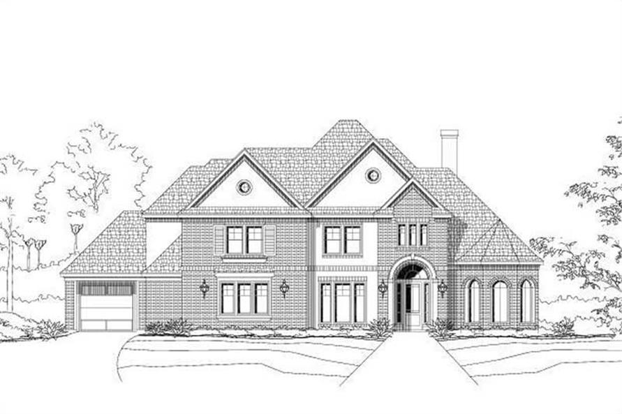 Main image for house plan # 16038