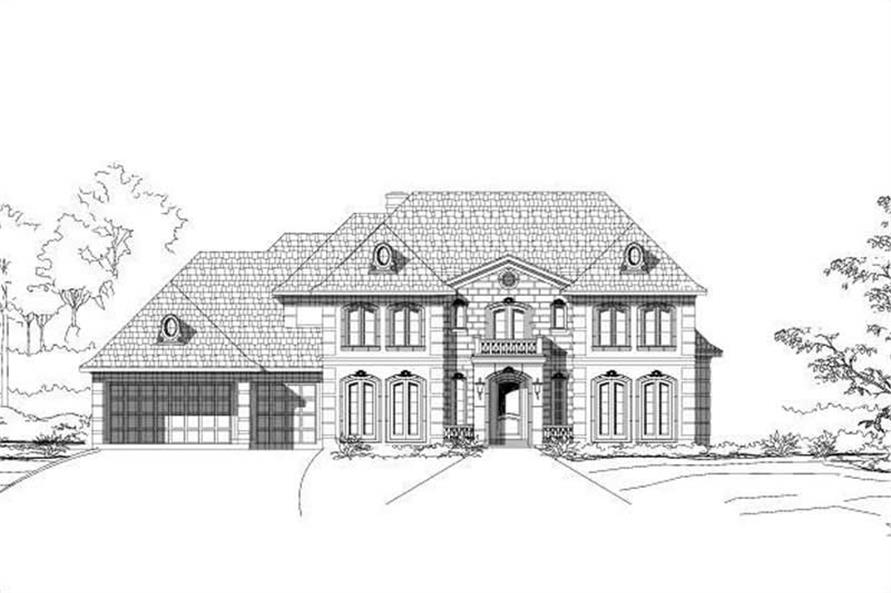 Main image for house plan # 16049