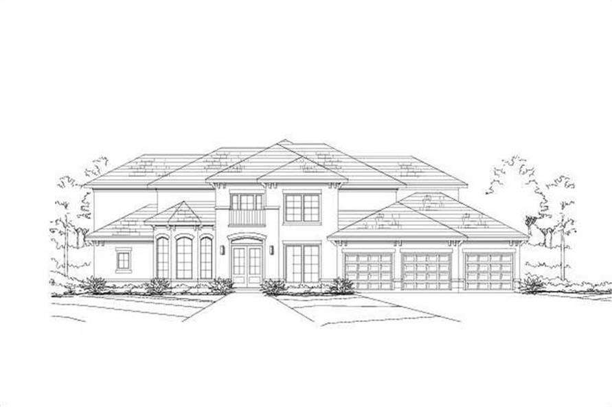 Main image for house plan # 16073