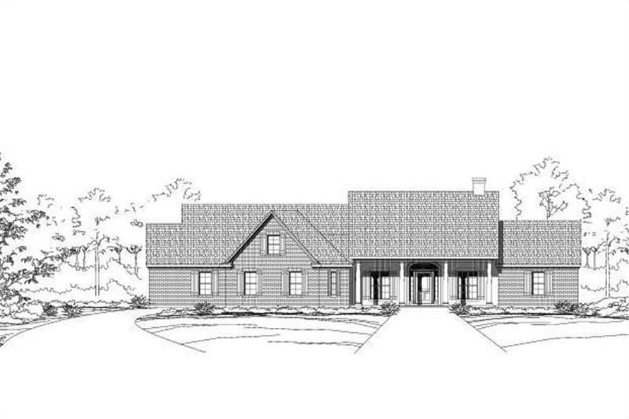Main image for house plan # 16091