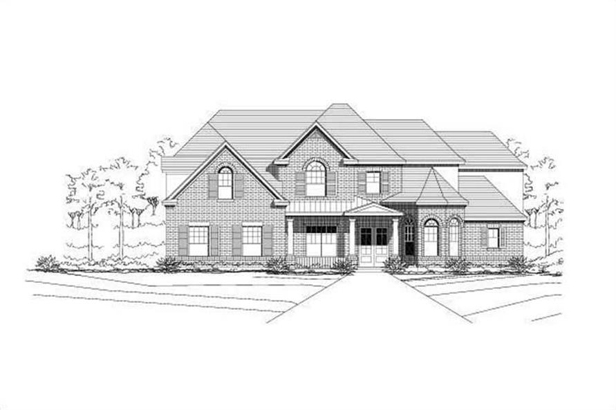 Main image for house plan # 16133