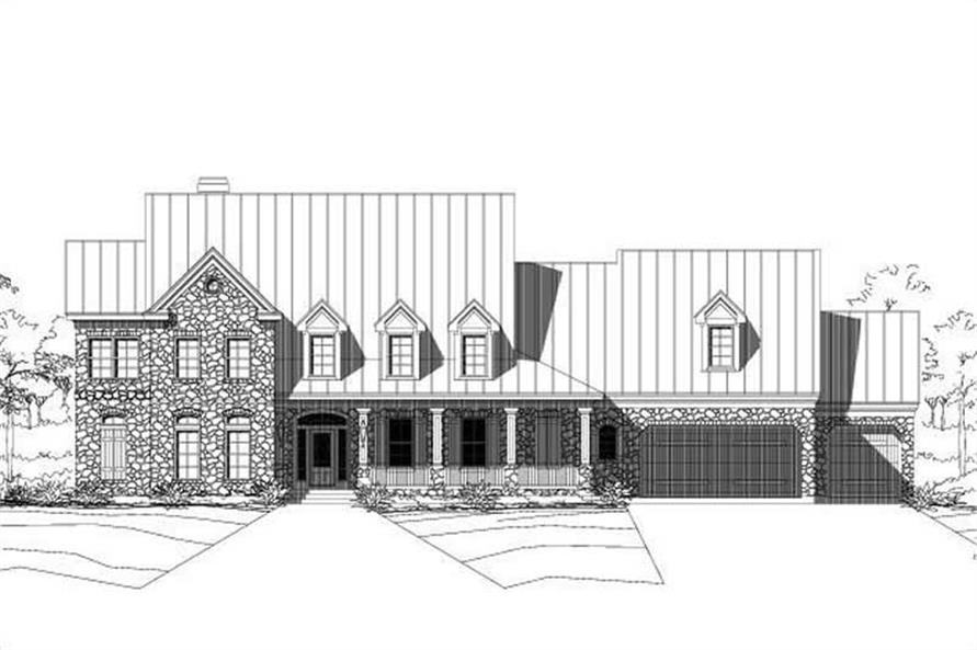 Main image for house plan # 16149