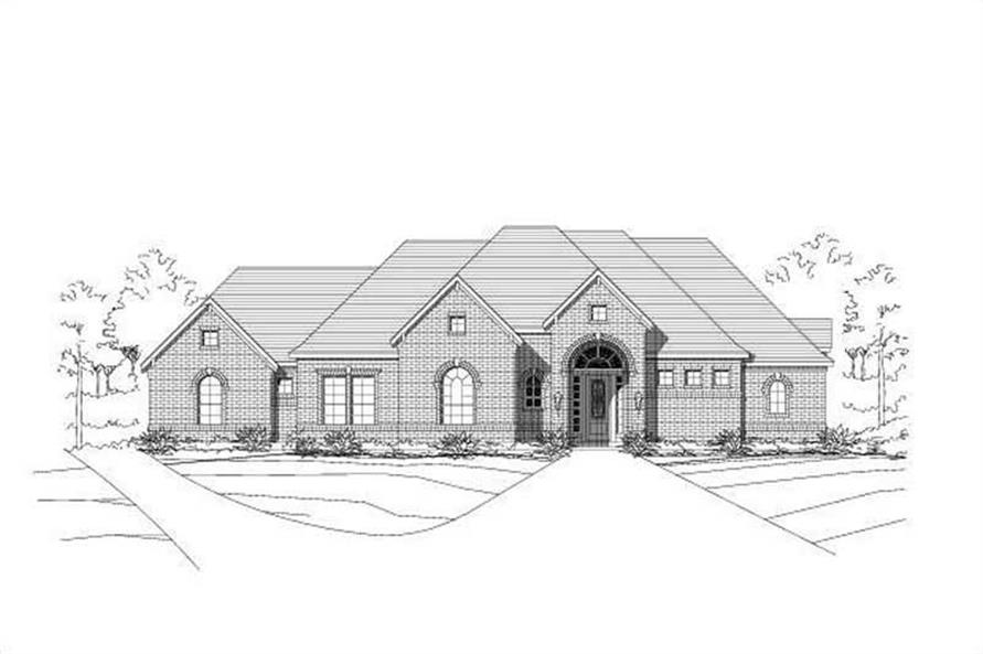 Main image for house plan # 16034