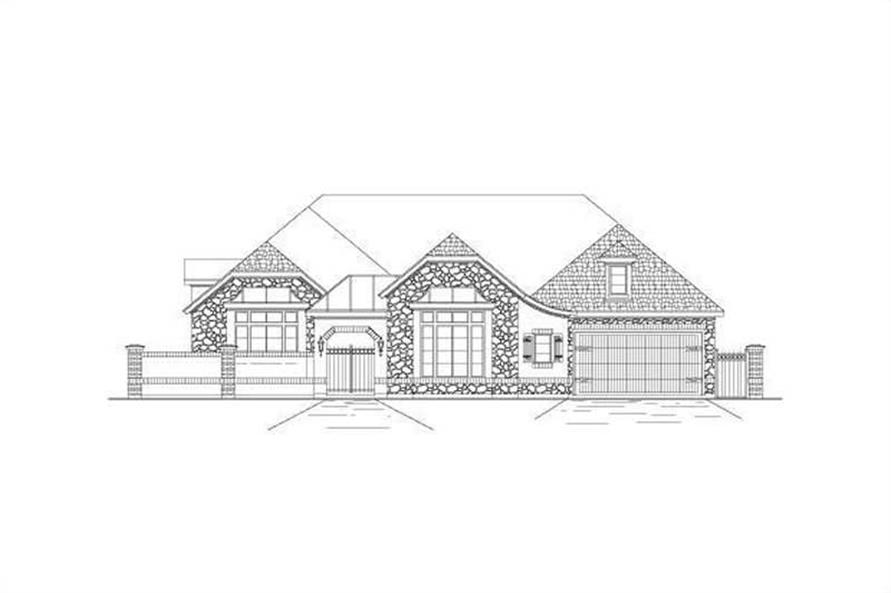 Main image for house plan # 15657