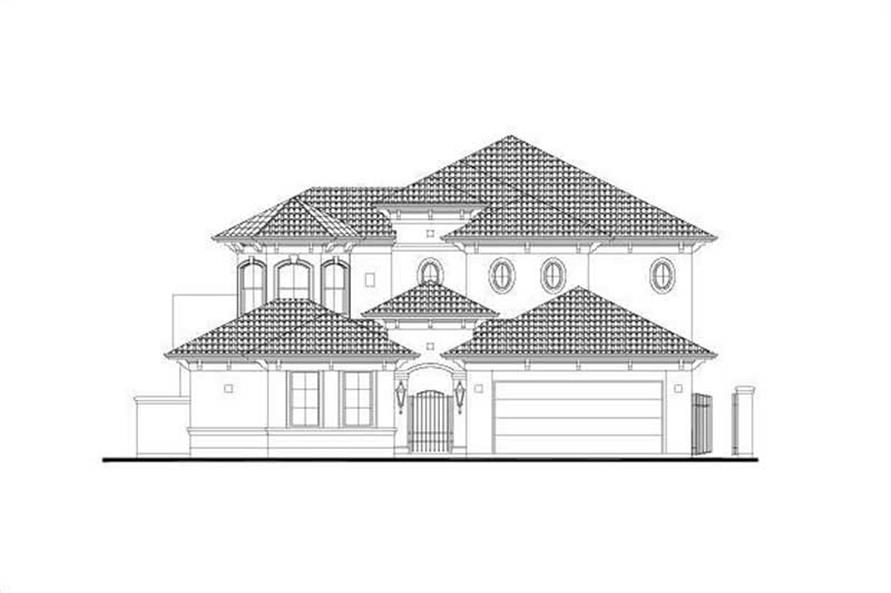 Main image for house plan # 15904