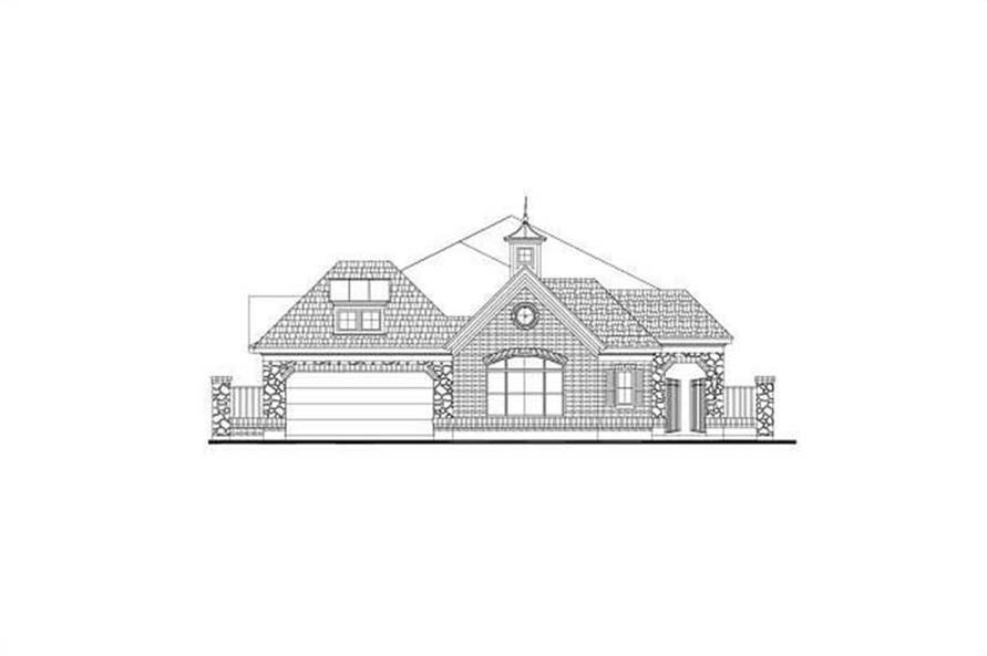 Main image for house plan # 15937