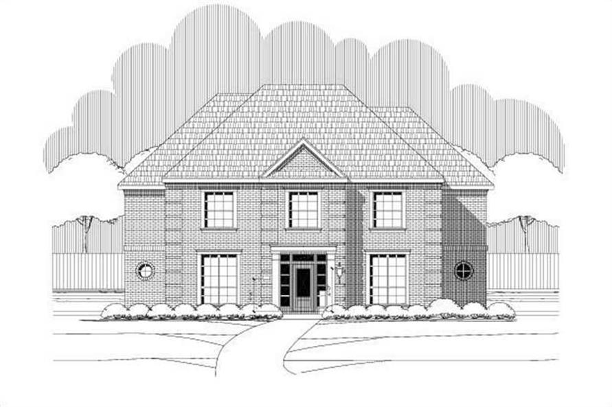 Main image for house plan # 15980