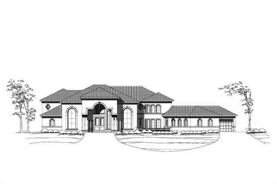 Main image for house plan # 15993