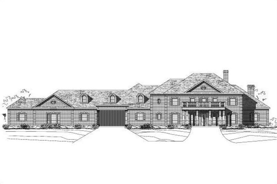 Main image for house plan # 15994
