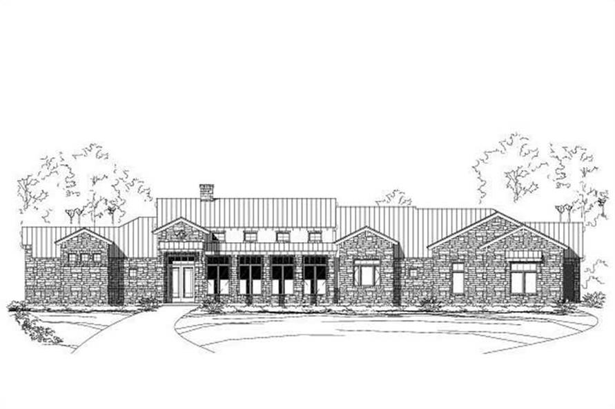 Main image for house plan # 16004
