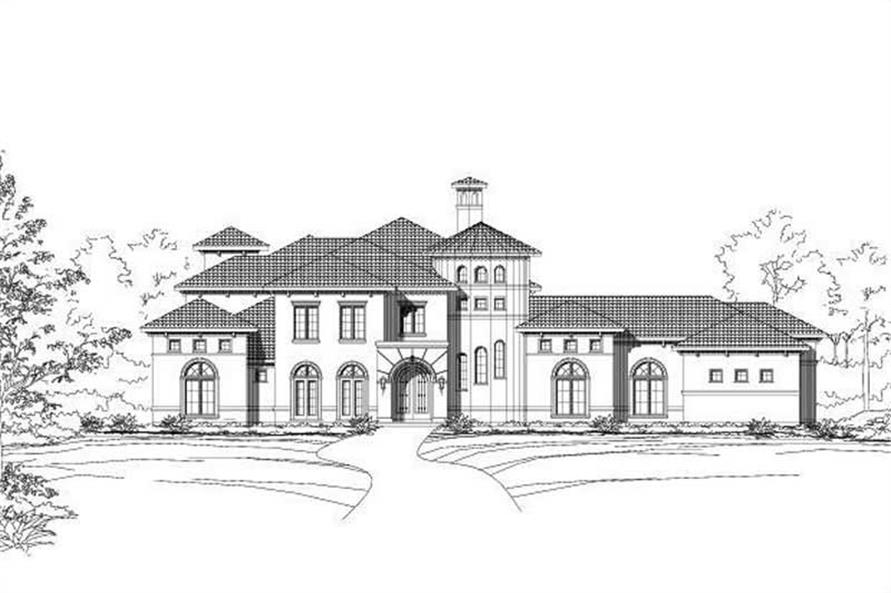 Main image for house plan # 15649