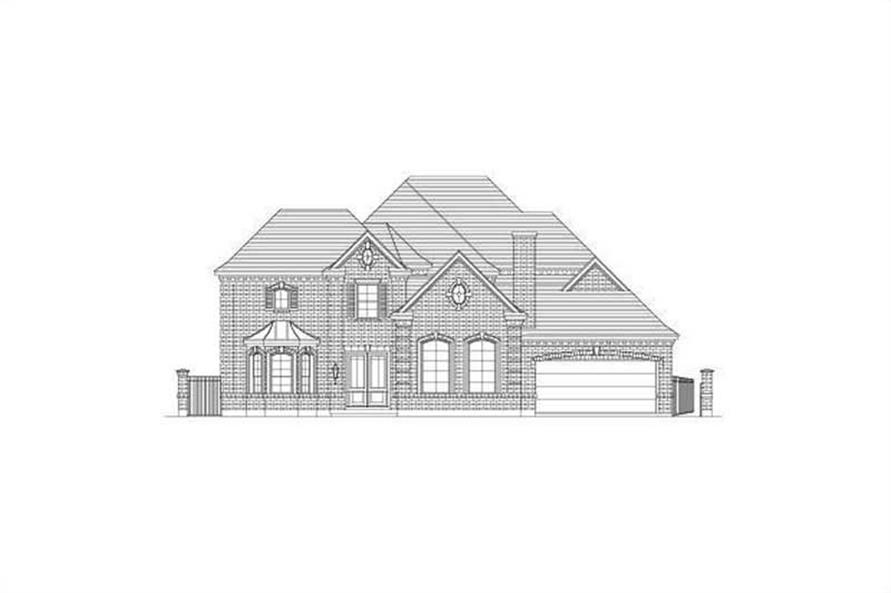 Main image for house plan # 15711