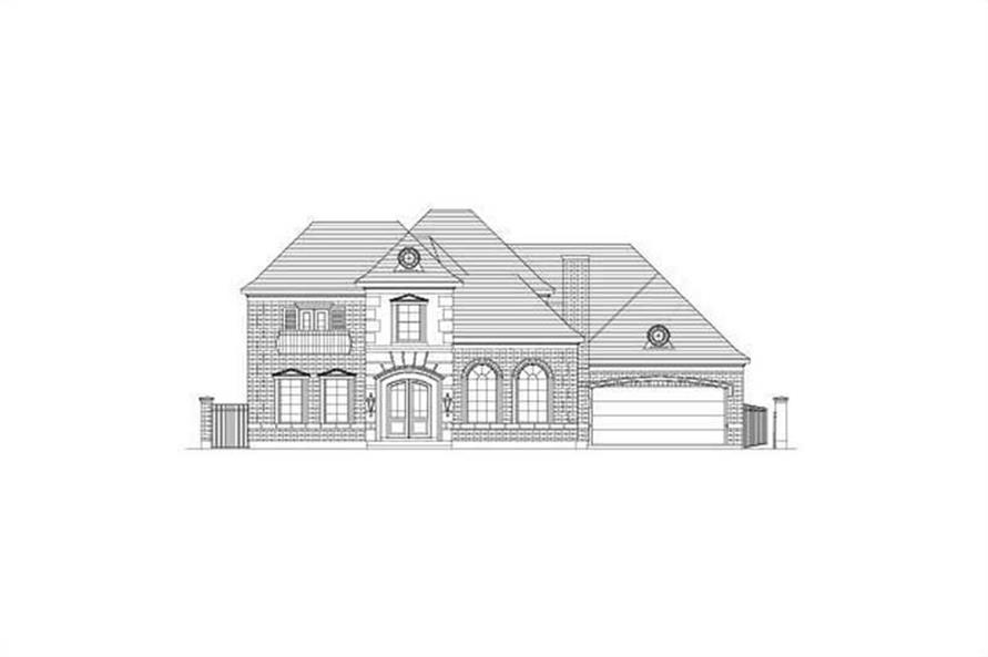 Main image for house plan # 15713