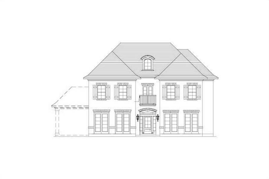 Main image for house plan # 15743